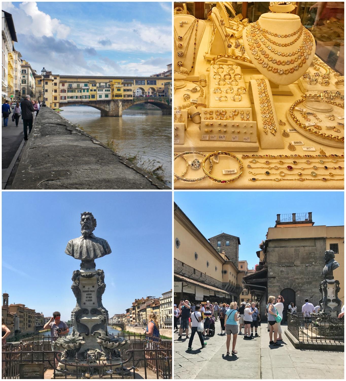 Ponte Vecchio in Florence, Italy Photo Heatheronhertravels.com