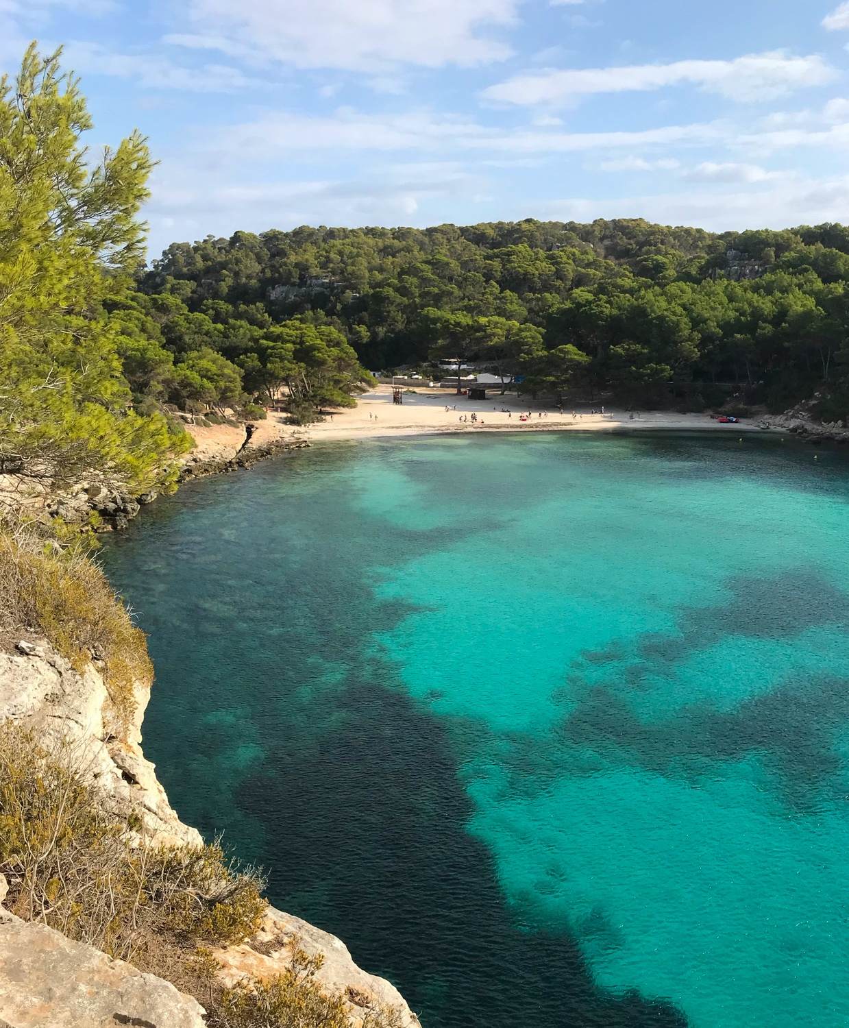 Cala Macarella Cami de Cavalls Menorca Photo Heatheronhertravels.com