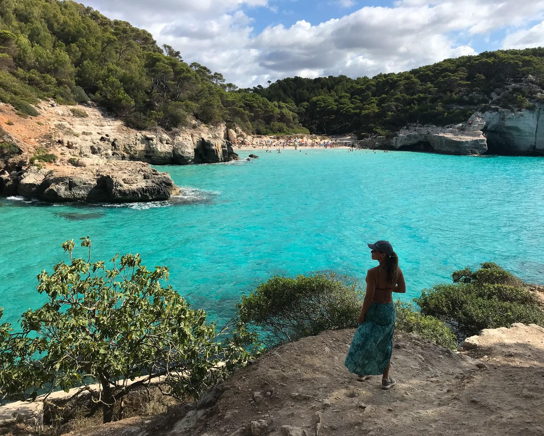 Cala Mitjana - Cami de Cavalls Menorca Photo Heatheronhertravels.com