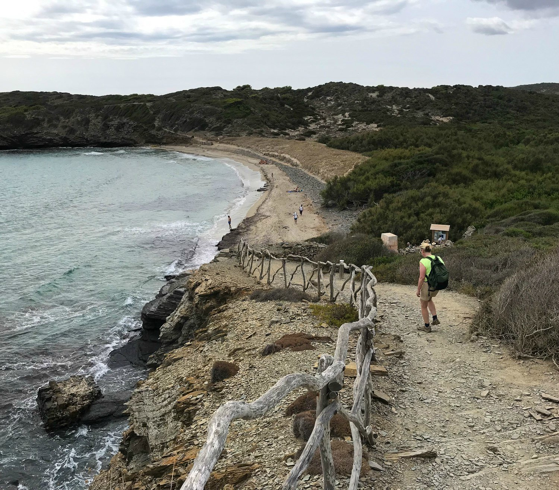 Platja d'en Tortuga - Cami de Cavalls Menorca