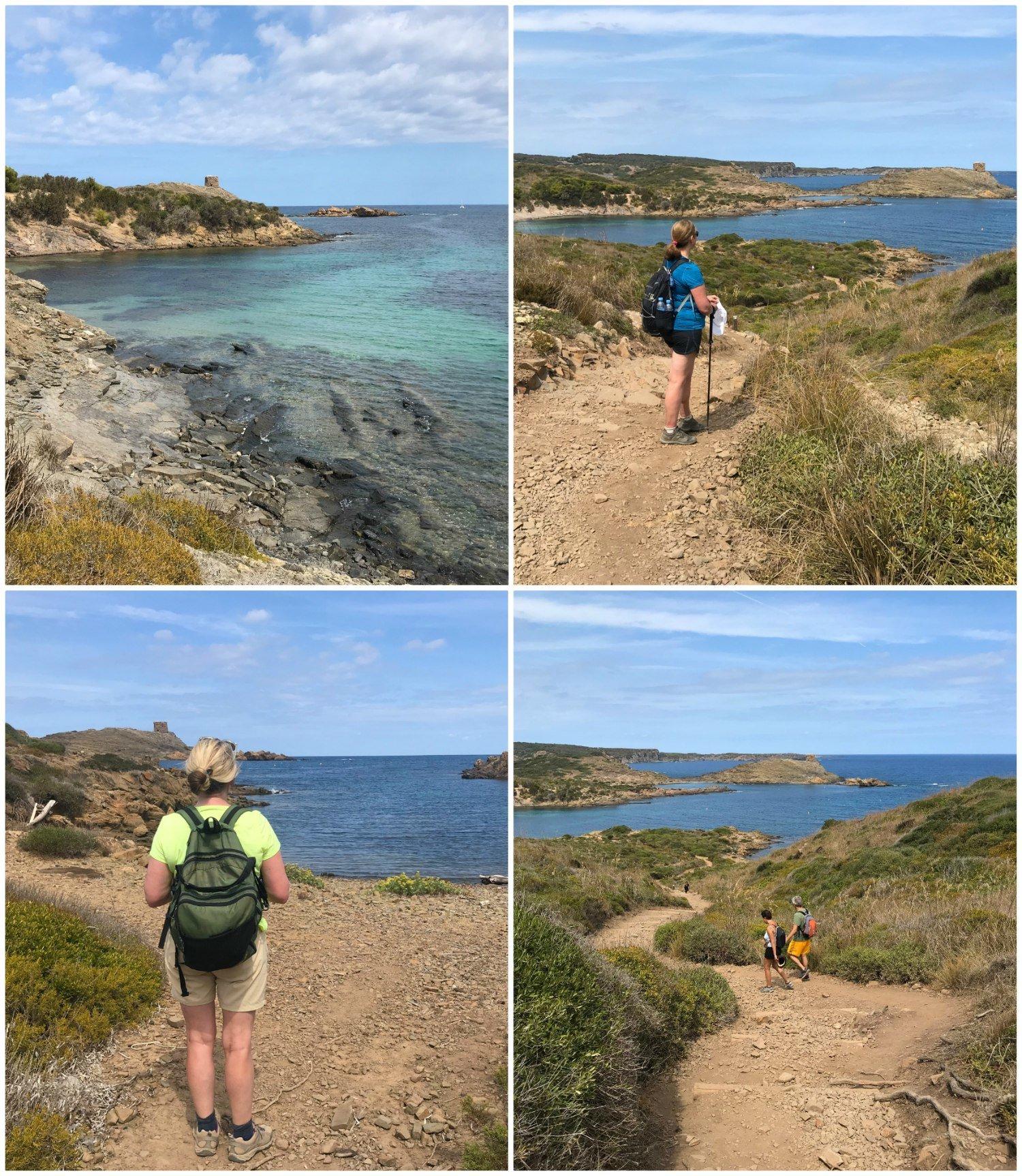 Cala des Tamarells - Cami de Cavalls Menorca Photo Heatheronhertravels.com