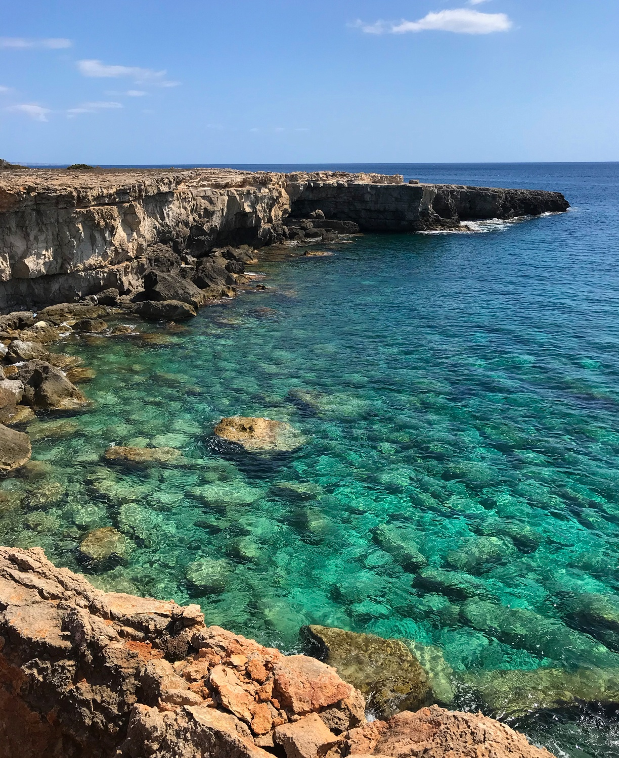 near Cala son Bosc - Cami de Cavalls Menorca Photo Heatheronhertravels.com