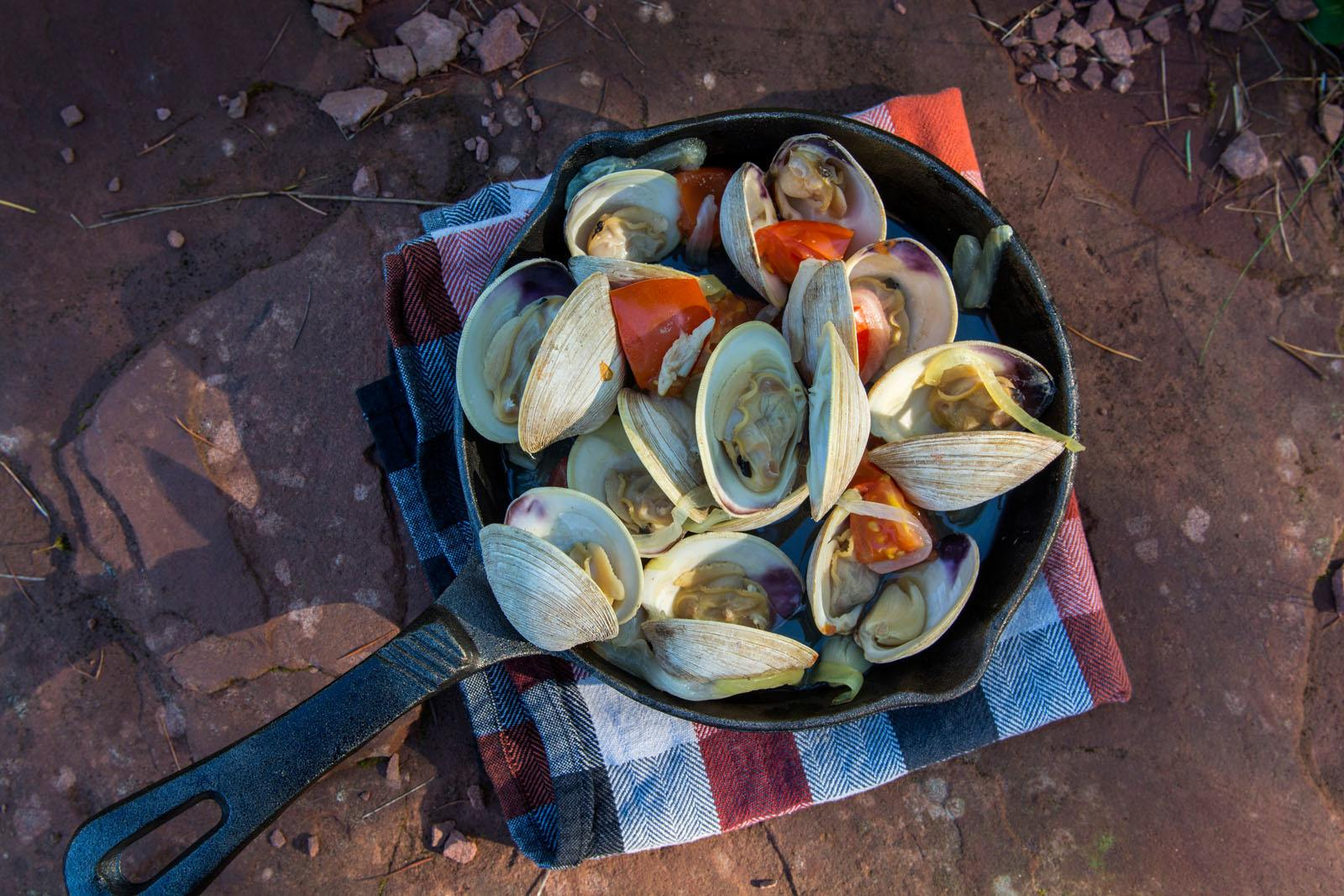 PEI Clams Photo Credit: ©Tourism PEI / Paul Baglole