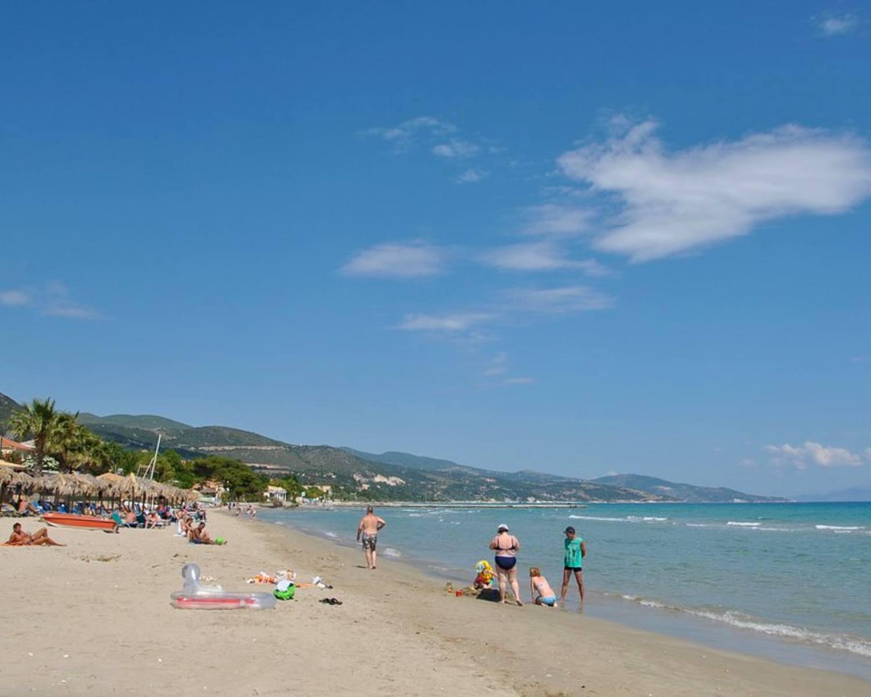 Alykes beach in Zante