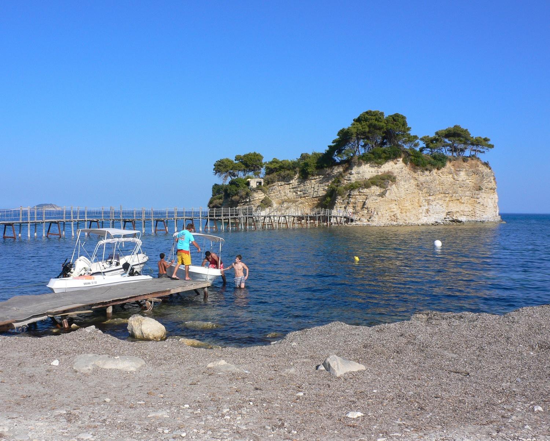 Cameo Island in Zakynthos Photo Heatheronhertravels.com