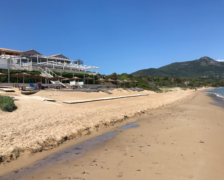 Ionio Beach Vasilikos in Zakynthos Greece Photo Heatheronhertravels.com