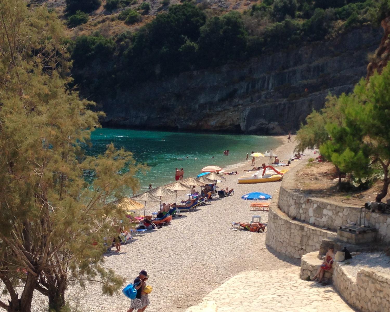 Makris Gialos beach in Zakynthos Photo Heatheronhertravels.com