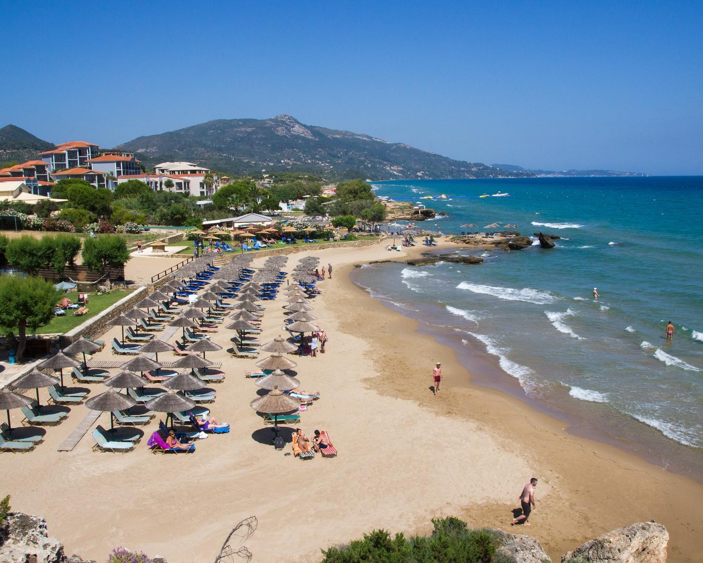 Plaka Beach in Zakynthos