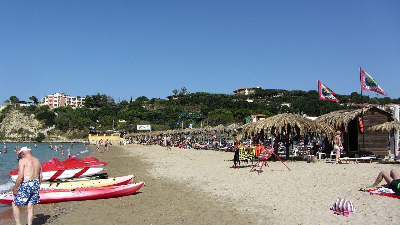 Tsilivi beach in Zakynthos