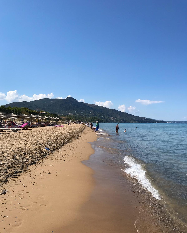Vasilikos beach in Zakynthos Greece Photo Heatheronhertravels.com