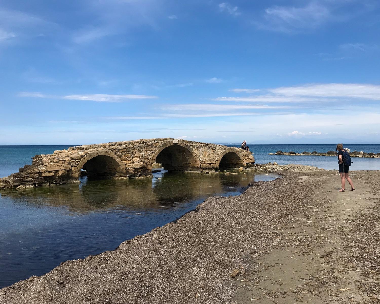 Venetian Bridge at Argassi beach Zakynthos