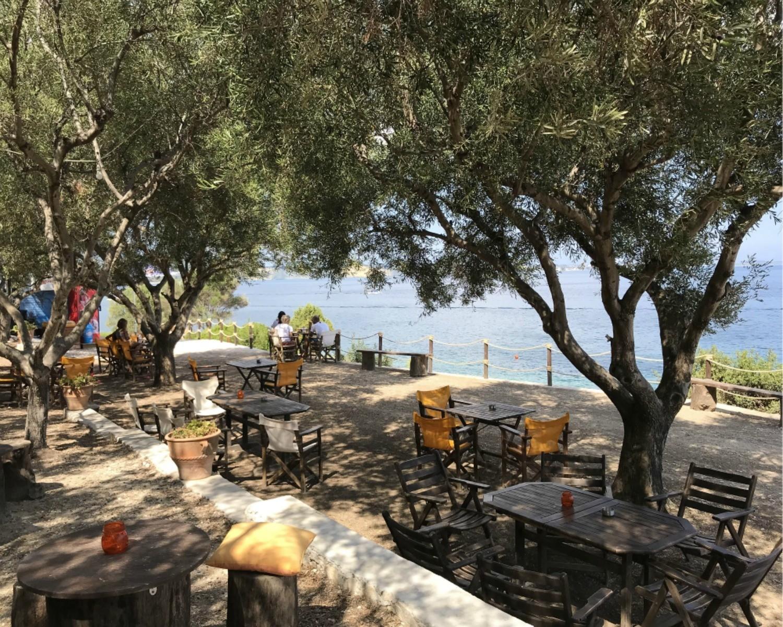 Arba Cafe near Marathias Zakynthos Greece Photo Heatheronhertravels.com