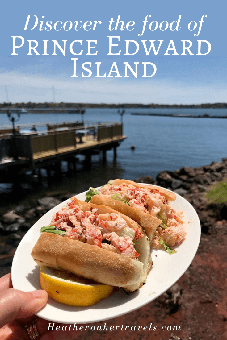 Delicious PEI food - where and what to eat in Prince Edward Island Canada