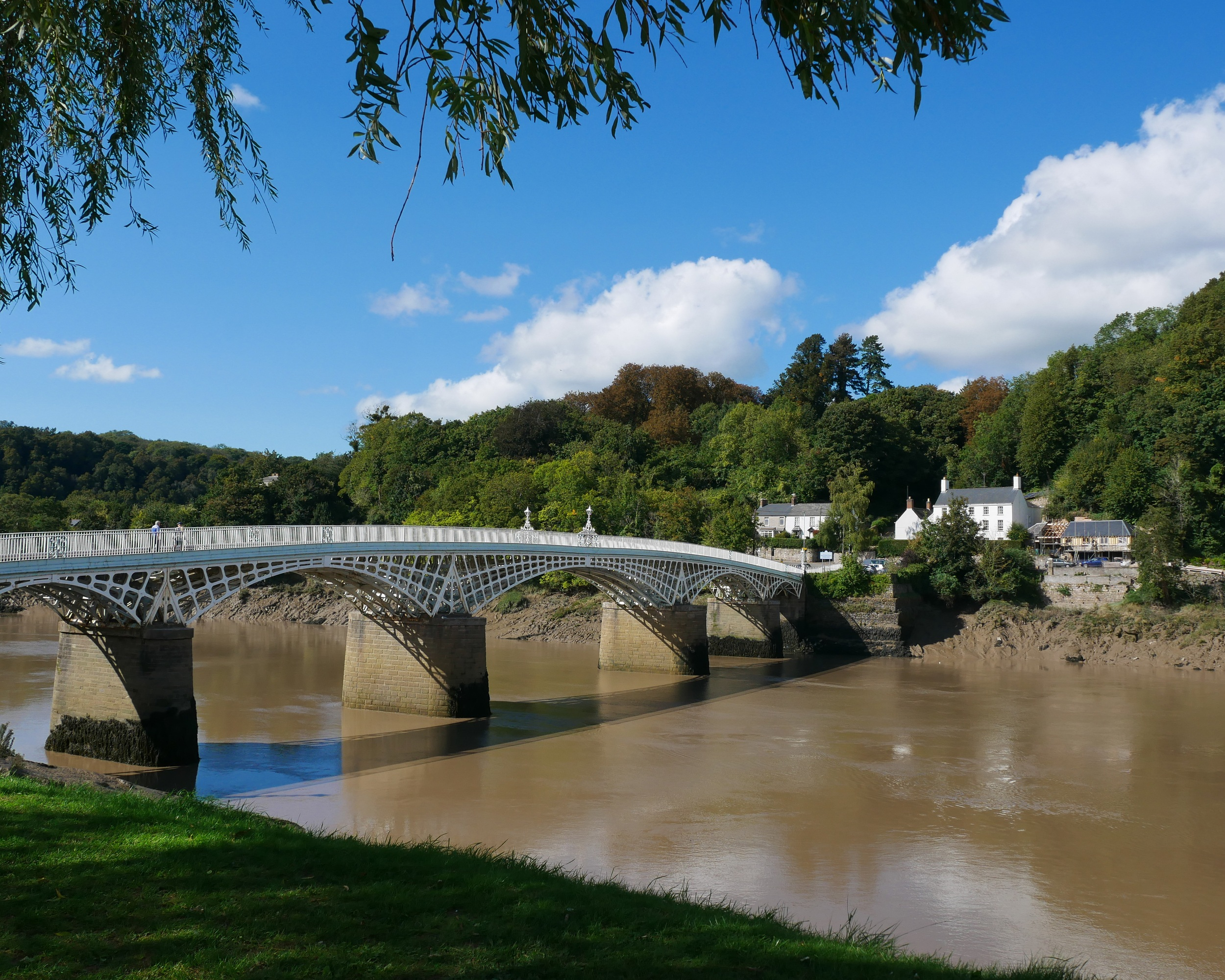 Bridge at Chepstow, Wye Valley, Wales Photo Heatheronhertravels.com