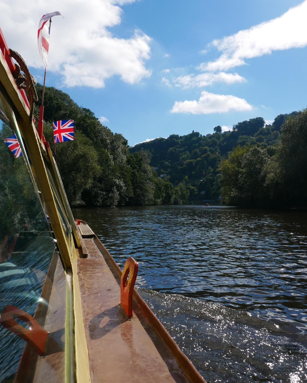 Kingfisher cruises, Symonds Yat, Wye Valley Photo Heatheronhertravels.com