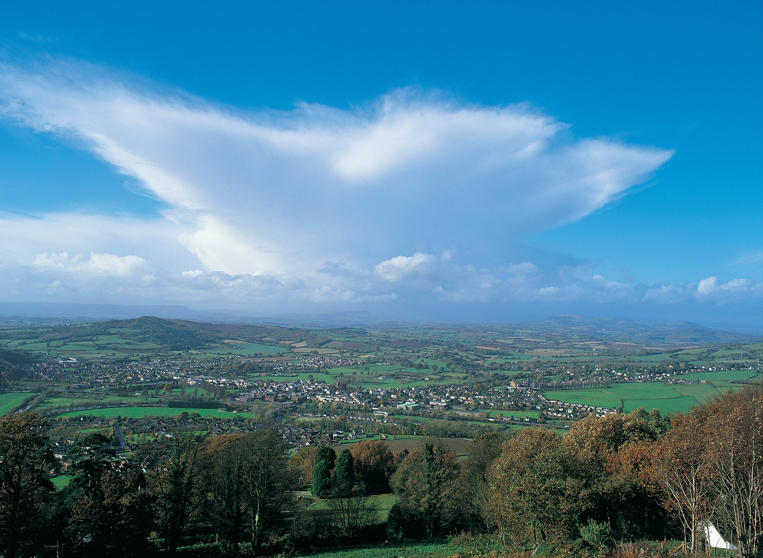 Monmouth from Kymin