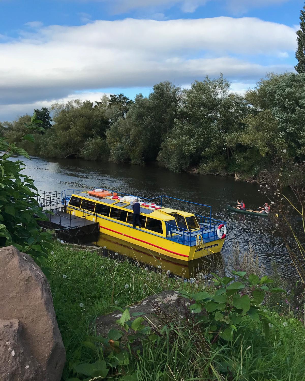 River cruise at Symond Yat West, Wye Valley Photo Heatheronhertravels.com
