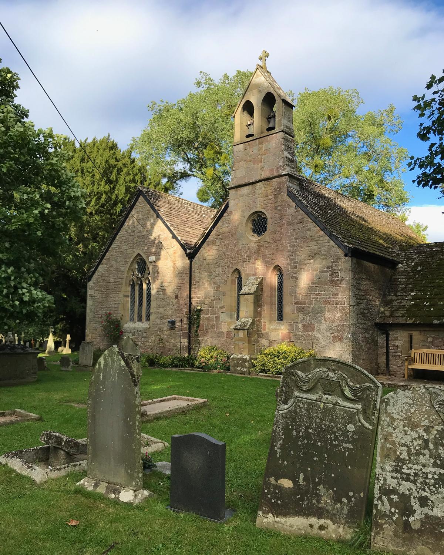 St Dubricius church, Symond Yat, Wye Valley Photo Heatheronhertravels.com