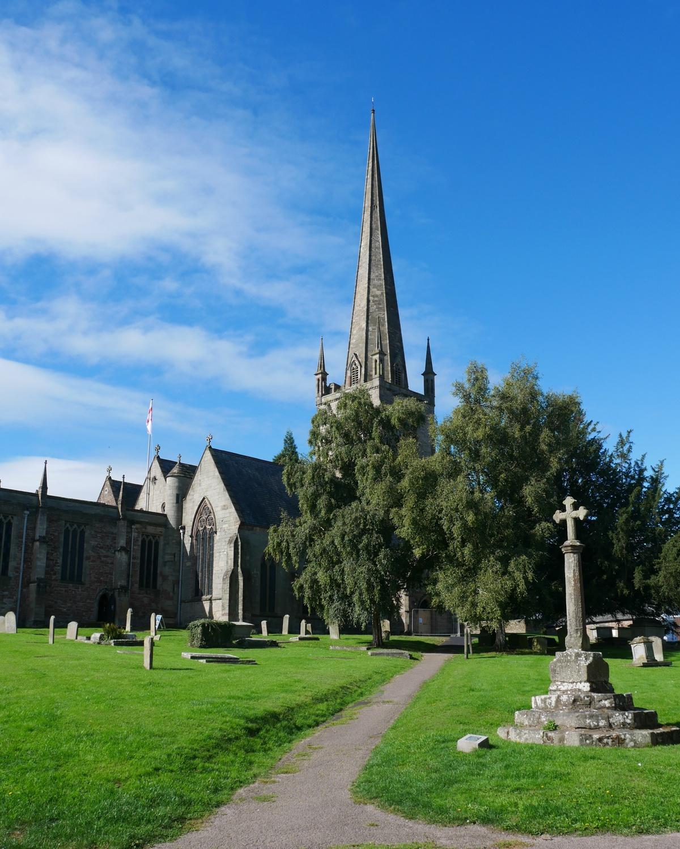 St Mary's church Ross on Wye Photo Heatheronhertravels.com