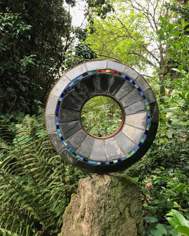 Wye Valley Sculpture Garden Photo Heatheronhertravels.com