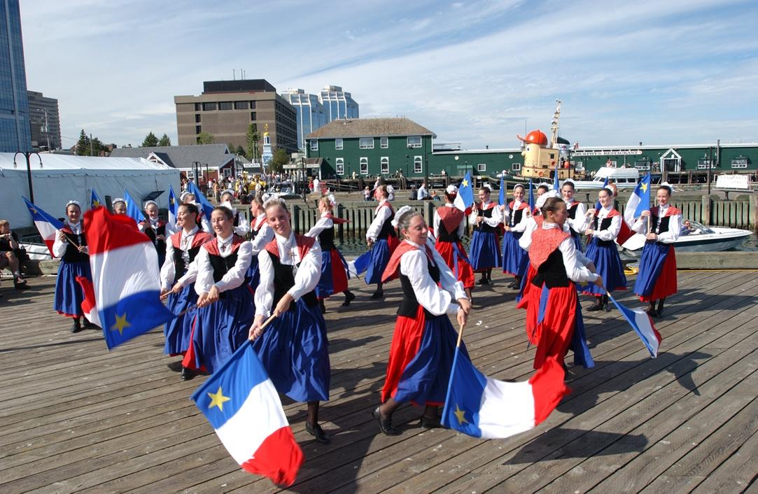 Acadian dancers in Nova Scotia Photo: Wally Hayes