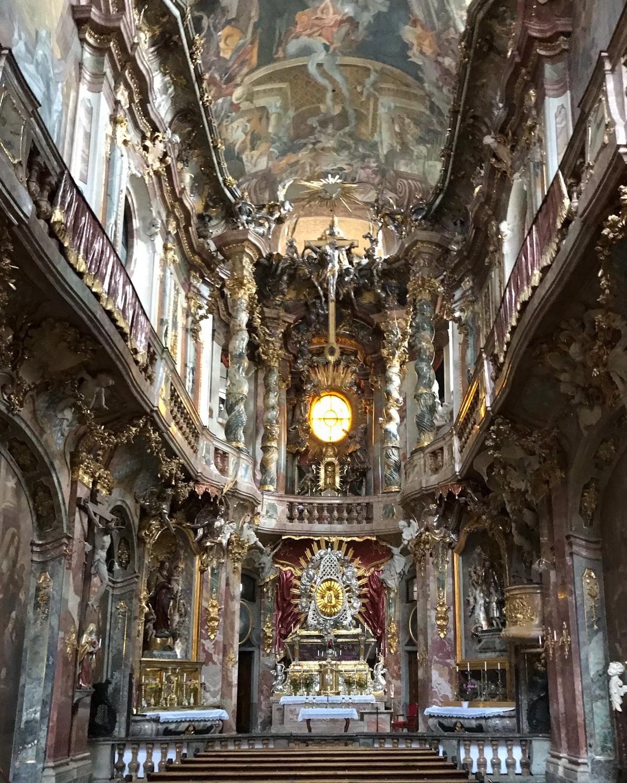 Asamkirche in Munich, Germany