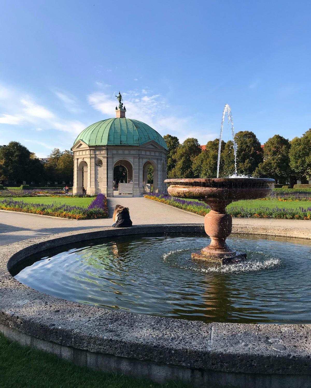 Hofgarten in Munich, Germany