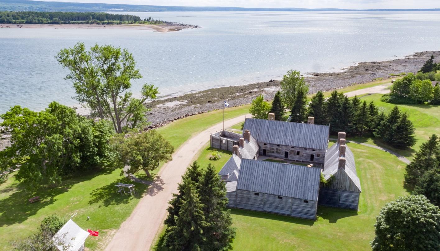 Port-Royal National Historic Site, Nova Scotia Photo: Tourism Nova Scotia / Photographer: Scott Munn