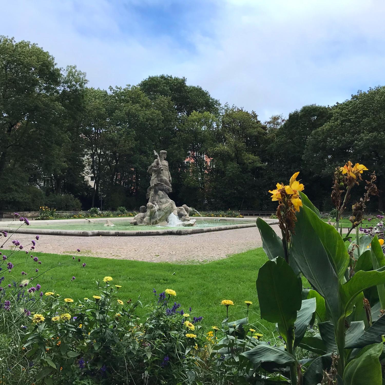 Old Botanical Garden in Munich, Germany