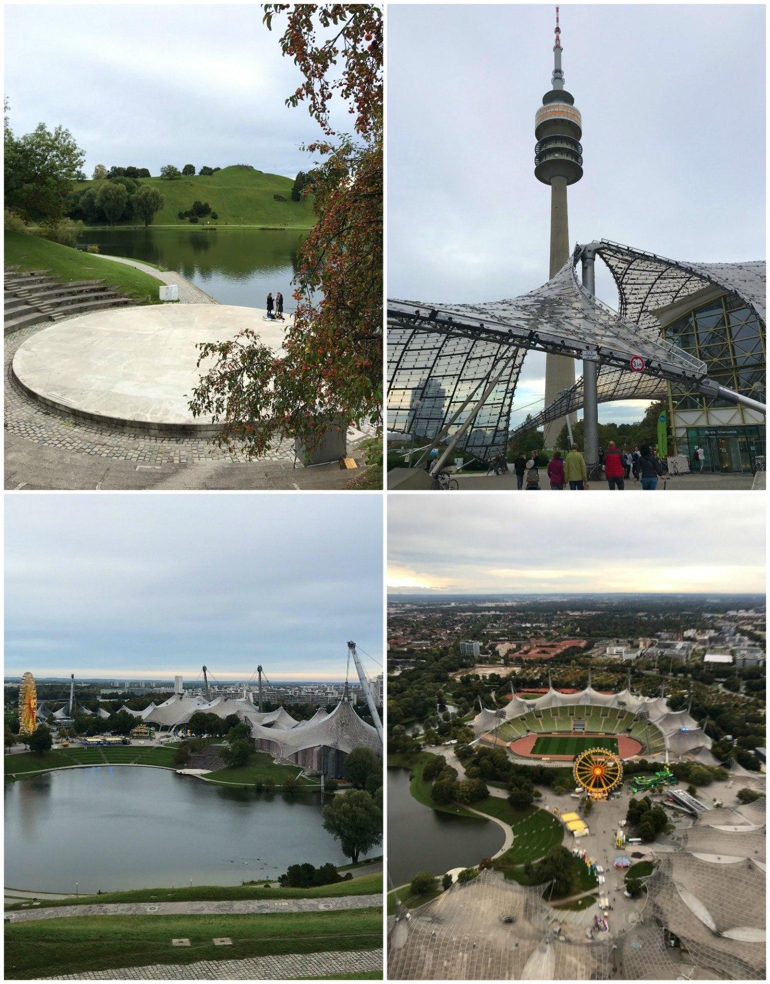 Olympiapark in Munich, Germany Photo Heatheronhertravels.com
