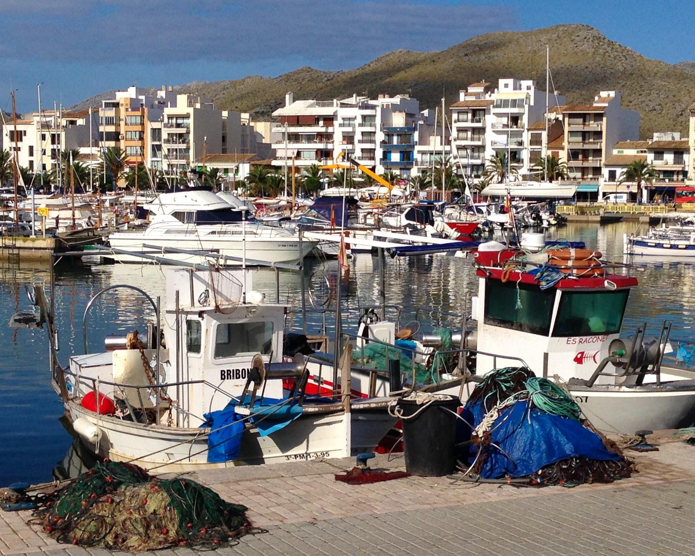 Port de Pollença in Mallorca Photo Heatheronhertravels.com