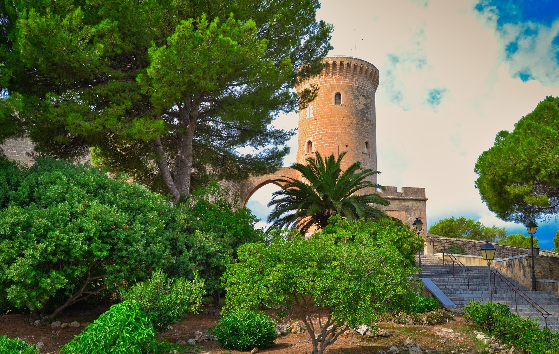 Castell Belver in Mallorca Photo McRonny Pixabay