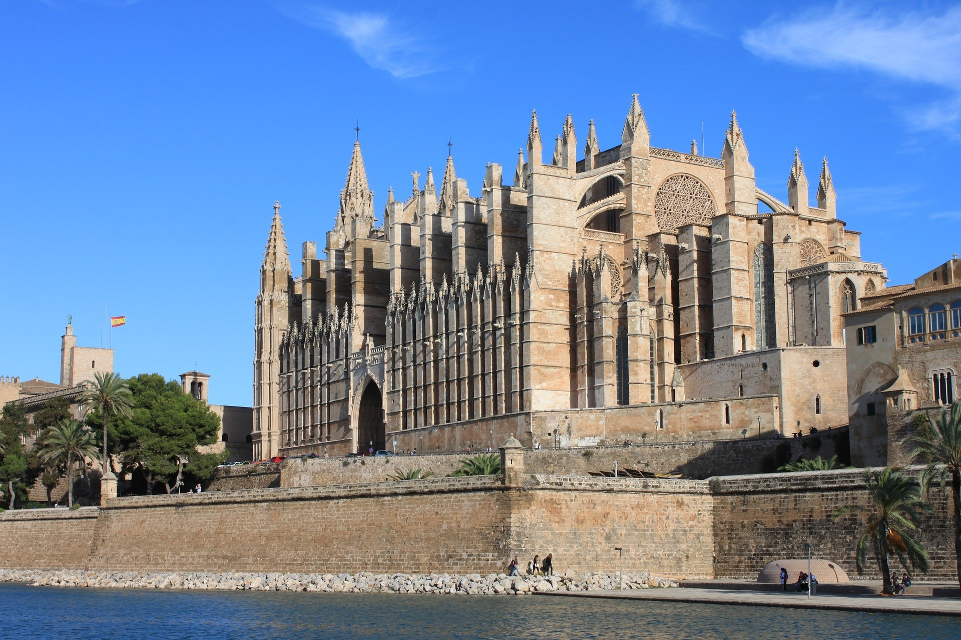 Palma Cathedral in Mallorca Photo Matthius Lemm