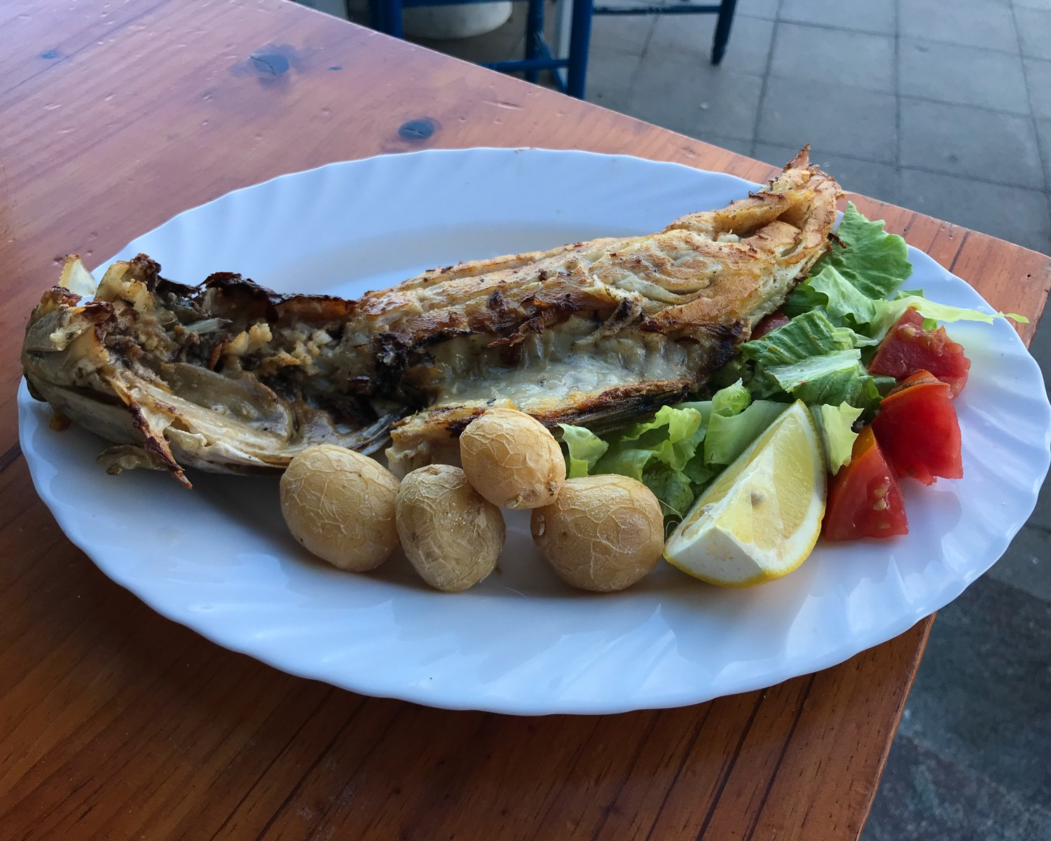 Fish of the day in Lanzarote Photo Heatheronhertravels.com
