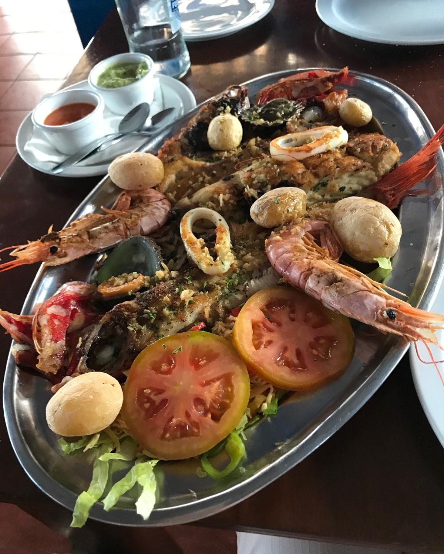 Fish platter in Lanzarote Photo Heatheronhertravels.com