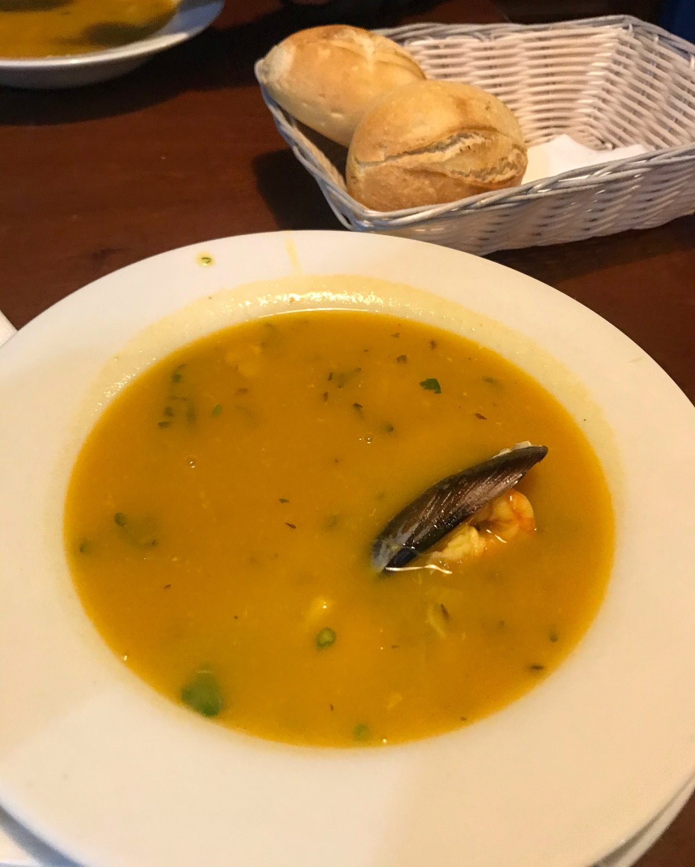Fish soup in Lanzarote Photo Heatheronhertravels.com