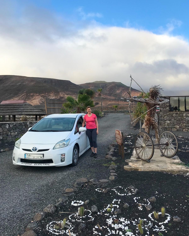 Hybrid car at Finca de Arrieta with Lanzarote Retreats Photo: Heatheronhertravels.com