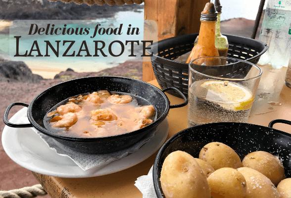 Food in Lanzarote Photo Heatheronhertravels.com