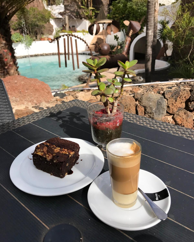 Leche Leche coffee in Lanzarote Photo Heatheronhertravels.com