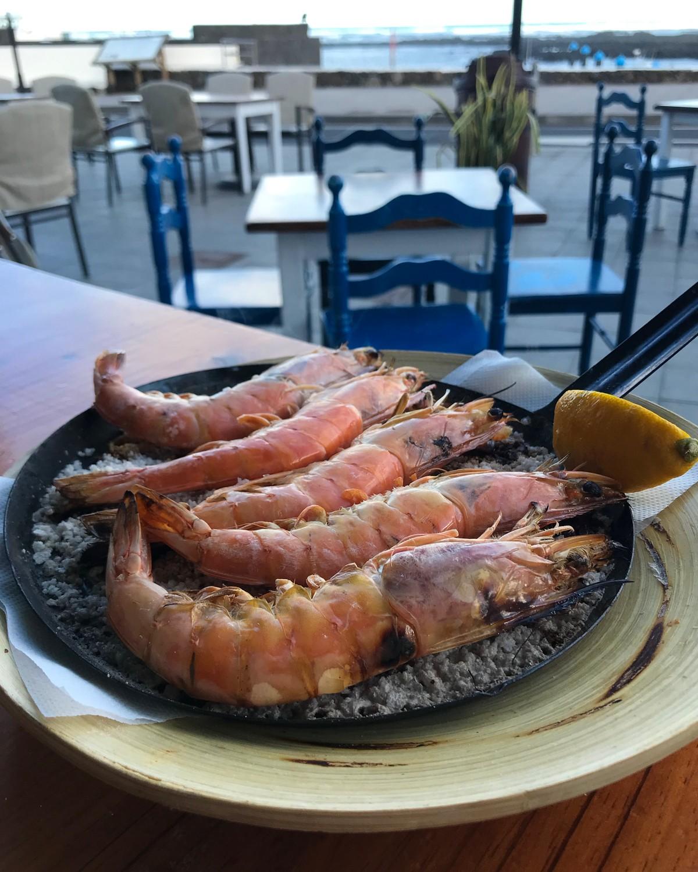 Os Gallegos restaurant Orzola Lanzarote Photo Heatheronhertravels.com