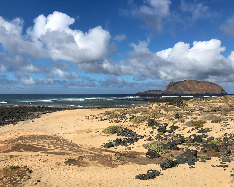Playa Baja del Ganado - Graciosa day trip from Lanzarote Photo Heatheronhertravels.com