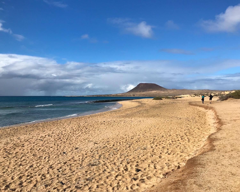 Playa del Salado - Graciosa day trip from Lanzarote Photo Heatheronhertravels.com