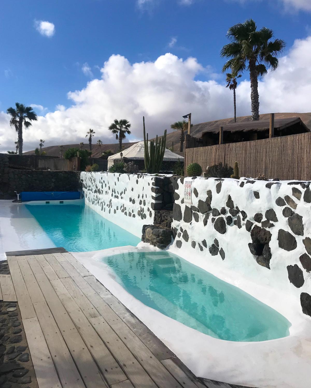 Pool at Finca de Arrieta with Lanzarote Retreats Photo Heatheronhertravels.com