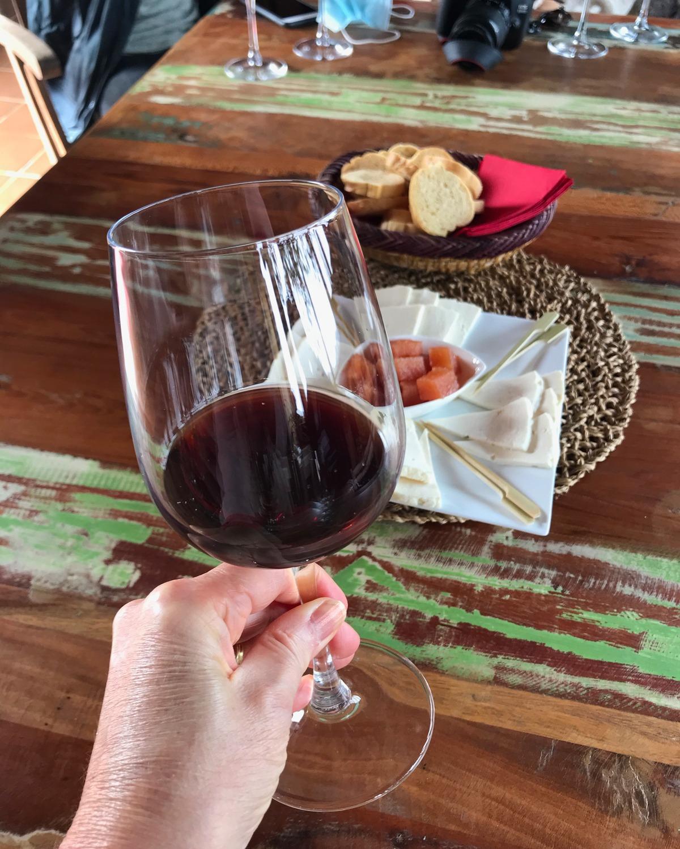 Wine tasting in Vega Volcan Lanzarote Photo Heatheronhertravels.com