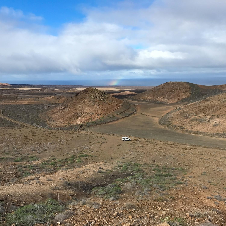 Caldera Blanca in Lanzarote Photo Heatheronhertravels.com