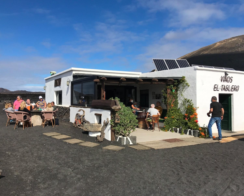 El Tablaro winery in Lanzarote Photo Heatheronhertravels.com