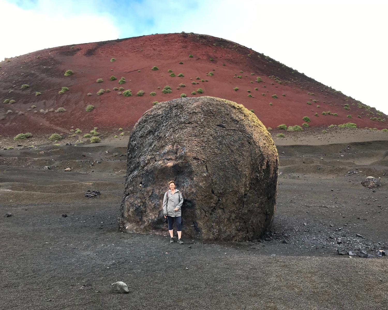 Montaña Colorado in Lanzarote Photo Heatheronhertravels.com