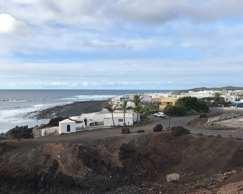 El Golfo in Lanzarote Photo Heatheronhertravels.com