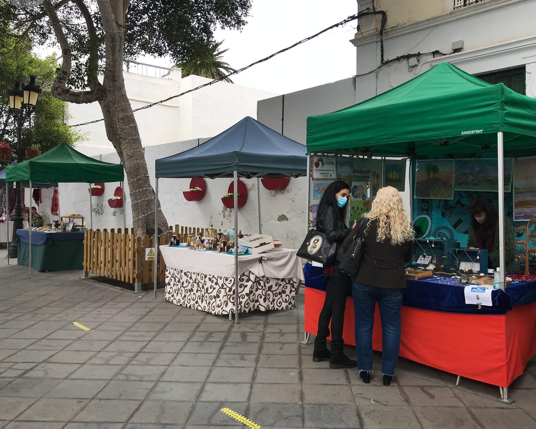 Haria market in Lanzarote Photo Heatheronhertravels.com