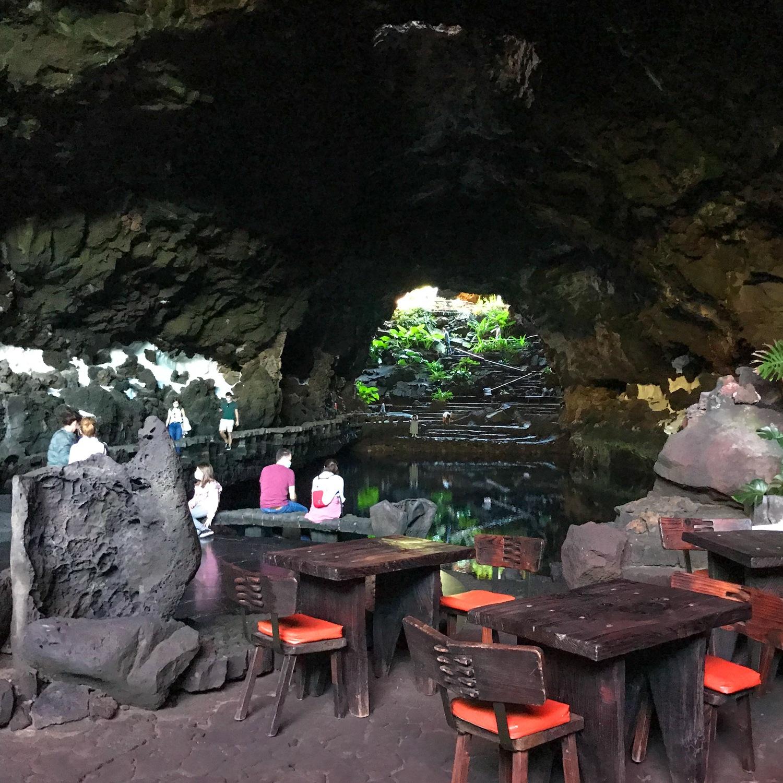Jameos del Agua in Lanzarote Photo Heatheronhertravels.com